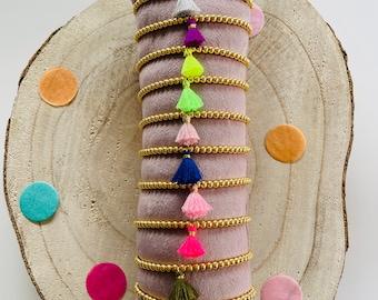 Bracelet Tassel Tassel Pearl Bracelet Gold