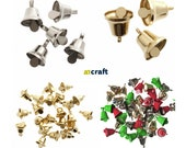 Christmas Craft Gold, Silver, White And Assorted Liberty Bell in Different Size and A Pack