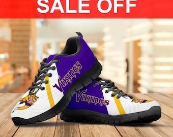 Vikings custom shoes | Etsy