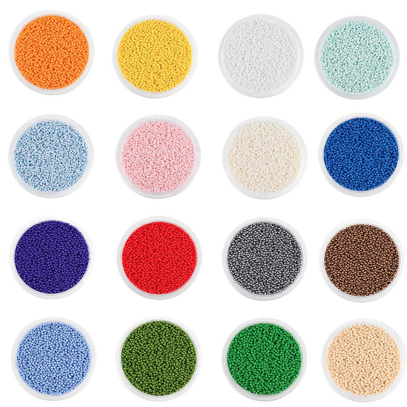 1200 pcs Charm Czech Glass Seed Beads DIY Bracelet Necklace For Jewelry Making Supplies Bulk Wholesale Accessories