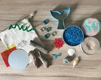 Mermaid Messy Play Pack