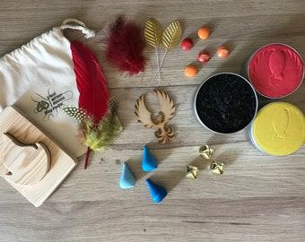 Phoenix Playdough & Messy Play Pack
