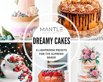food photo preset Presets for cakes /& bakery instagram filter for cookers 5 Best Cake Presets Lightroom Mobile yummy sweets preset,