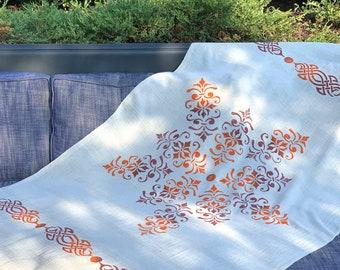 Handmade Linen Beach Towel, Turkish Towel, Large Bath Towel, Swimsuit Coverup