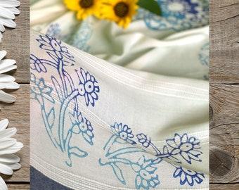 Handmade Beach Towel - White Bamboo Cotton Turkish Towel,  Bath Towel, Beach Cover Up - Gift for Her