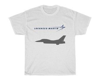 NEW LOCKHEED MARTIN USA MILITARY NASA BLACK COLOR T SHIRT SIZE S to 3XL