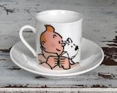 coffee cup, espresso cup, adventures, 60 cc (2 oz)