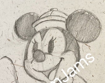 Original Artwork - Minnie Mouse