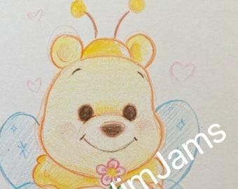 Original Artwork - Winnie the Pooh