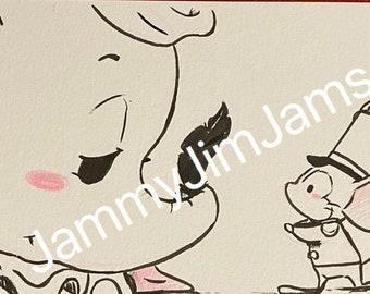 Original Artwork - Dumbo
