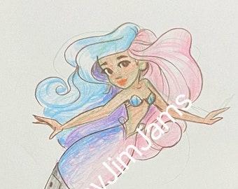 Original Artwork - mermaid