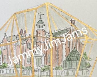 Original Artwork - Haunted Mansion