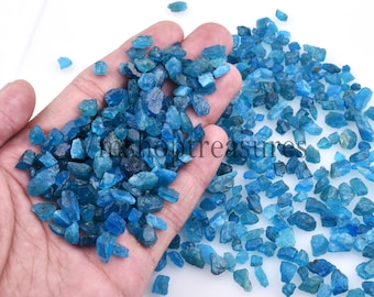 Great-Natural  Blue Apatite Neon  Tumbled  loose gemstone Tumbled   shape apatite top quality handmade 56  cts  size 29x17x13 # 1323