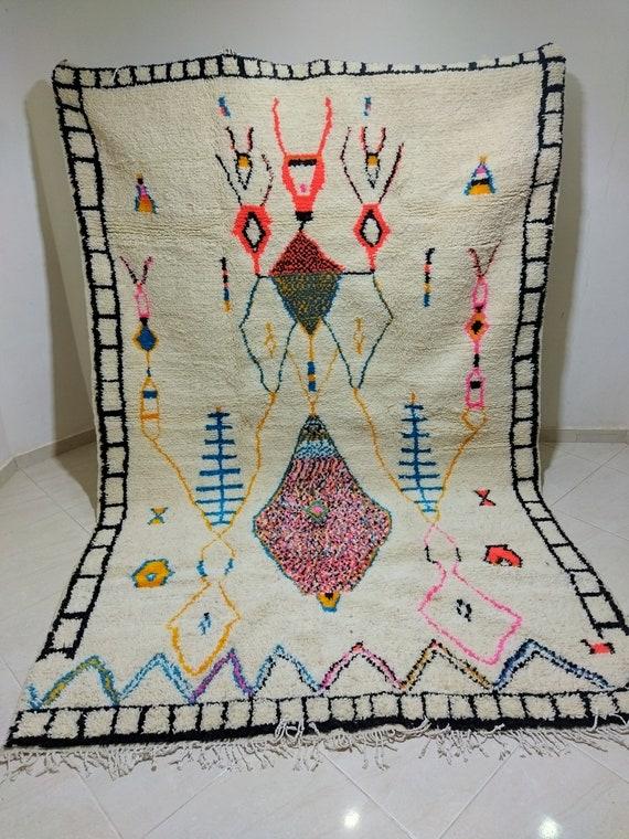 Handmade Berber carpet, traditional carpet, 300*200 centimeters