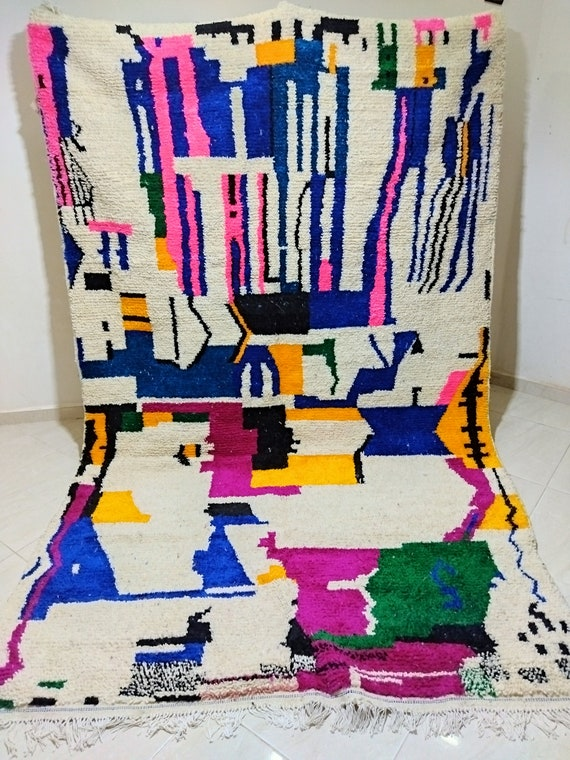Azilal carpet, beautiful traditional carpet. Dimensions 300*190