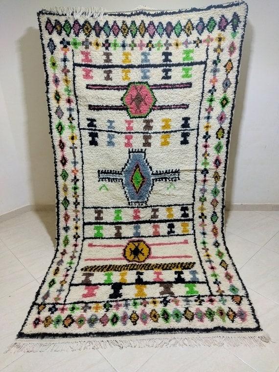 Handmade morocco carpet, dimensions 266/143 ctm