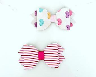 Love Hair bow set