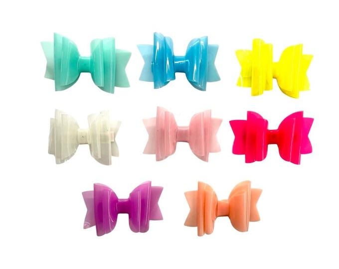 Waterproof Jelly Hair Bow