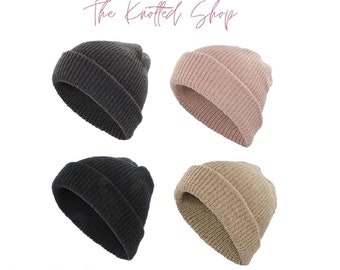 Adult Ribbed Beanie