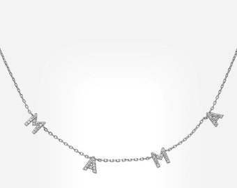 Mama Necklace - 925 Sterling Silver  & 18K Gold Plated