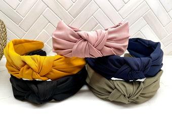 Cotton Top Knot Headband