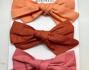 Cotton Fabric Bow
