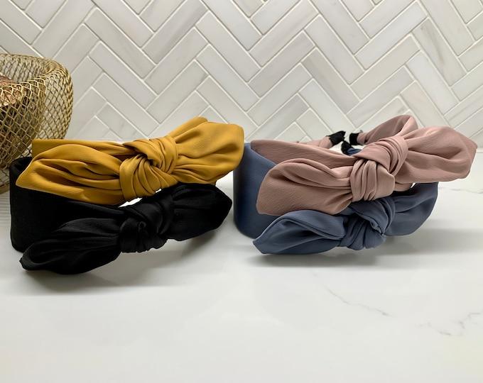 Silk Side Bow Headband