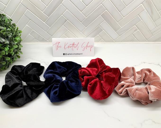 Velvet Hair Scrunchie
