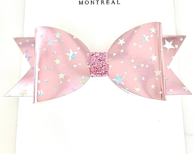 Star Pink Bow