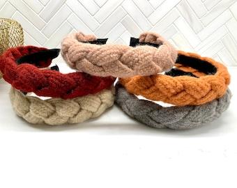 Braided Wool Headband