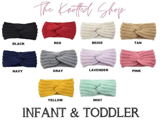 Infant & Toddler Knitted Ear Warmer