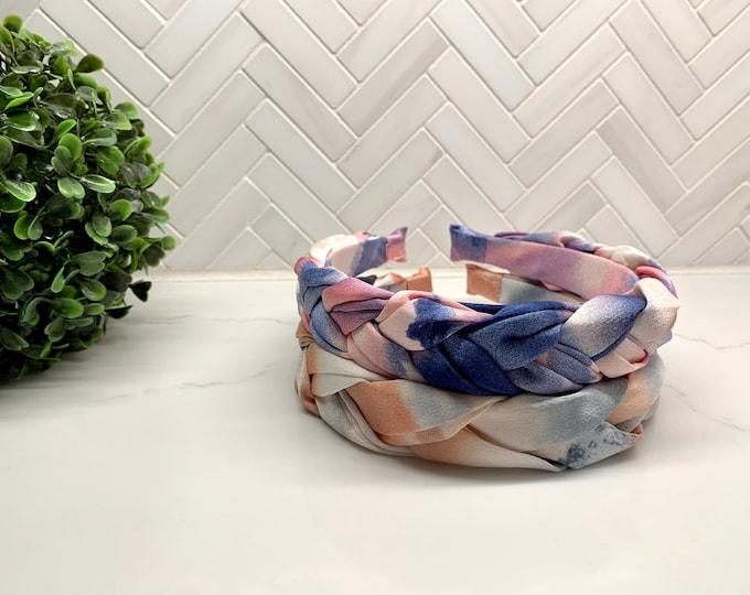 Braided Tie Dye Headband
