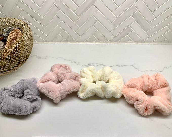Plush Fur Scrunchie
