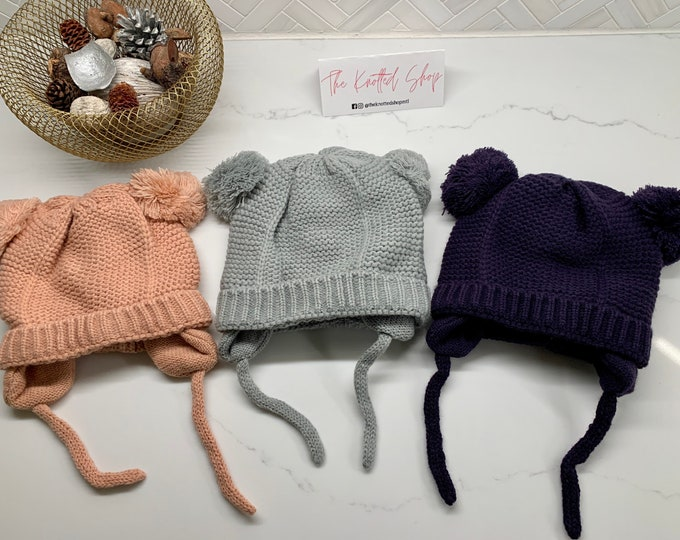 Infant Knitted Hats