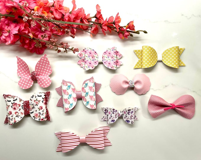 Spring Hair Bow Collection