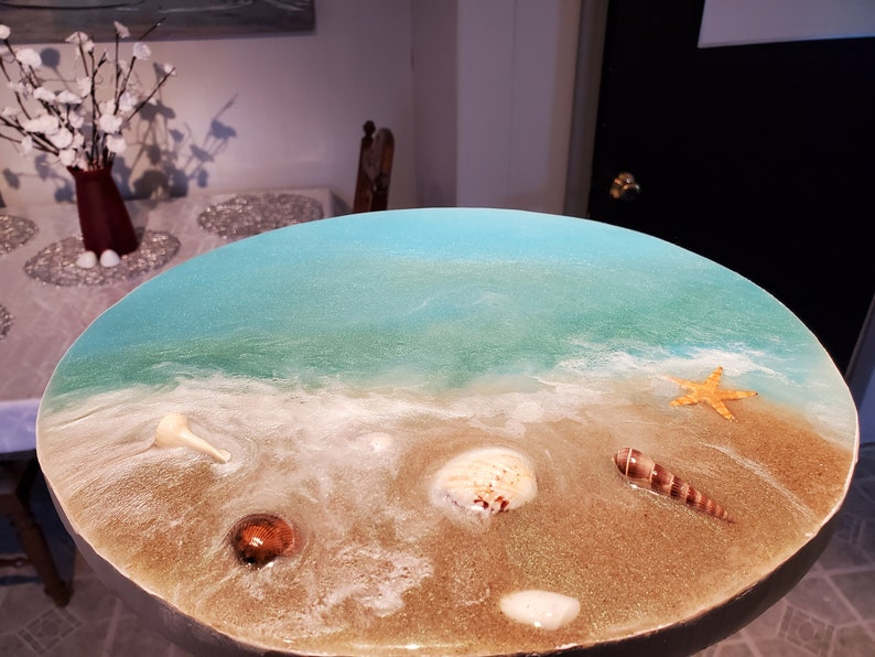 Best Coral Epoxy Resin Table Tops of All Time
