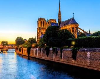 Beautiful framed photo - Cathédral Notre Dame de Paris