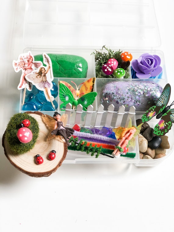 Play Dough Kit Fairy Garden Play Dough Kit Fairy Kit