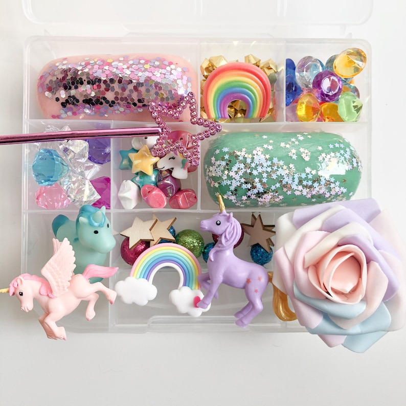 Play Dough Kit Unicorn Play Dough Kit Unicorn Kit Sensory