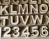 Fillable Letters numbers shapes - Sweets Letters - Fillable Letters - PomPom Letters - Nursery Letters - Hollow Letters - UK