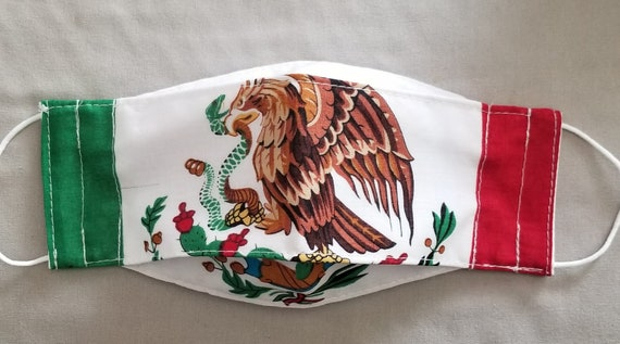 Facemask Mexican Flag