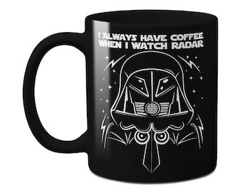 Dark Helmet's Radar Coffee Mug
