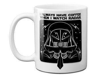 Spaceballs The Dark Helmet Radar Coffee Mug