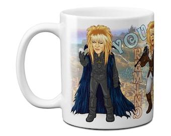Labyrinth Goblin King of Costumes Mug
