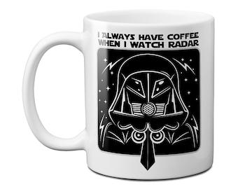 Spaceballs The Dark Helmet Radar Coffee & Liquid Schwartz Mug