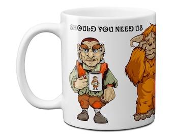 Should You Need Us, Labyrinth Mug