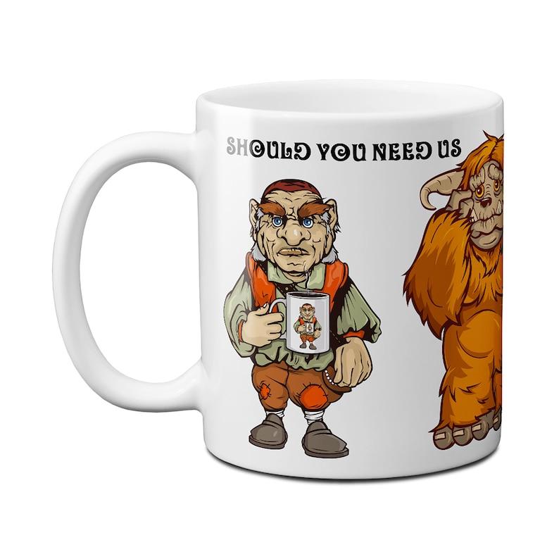 Should You Need Us Labyrinth Mug 11 Fluid ounces