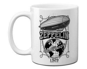 Graf Zeppelin Flight Around the World Mug