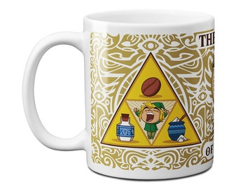 The Triforce of Awakening Mug