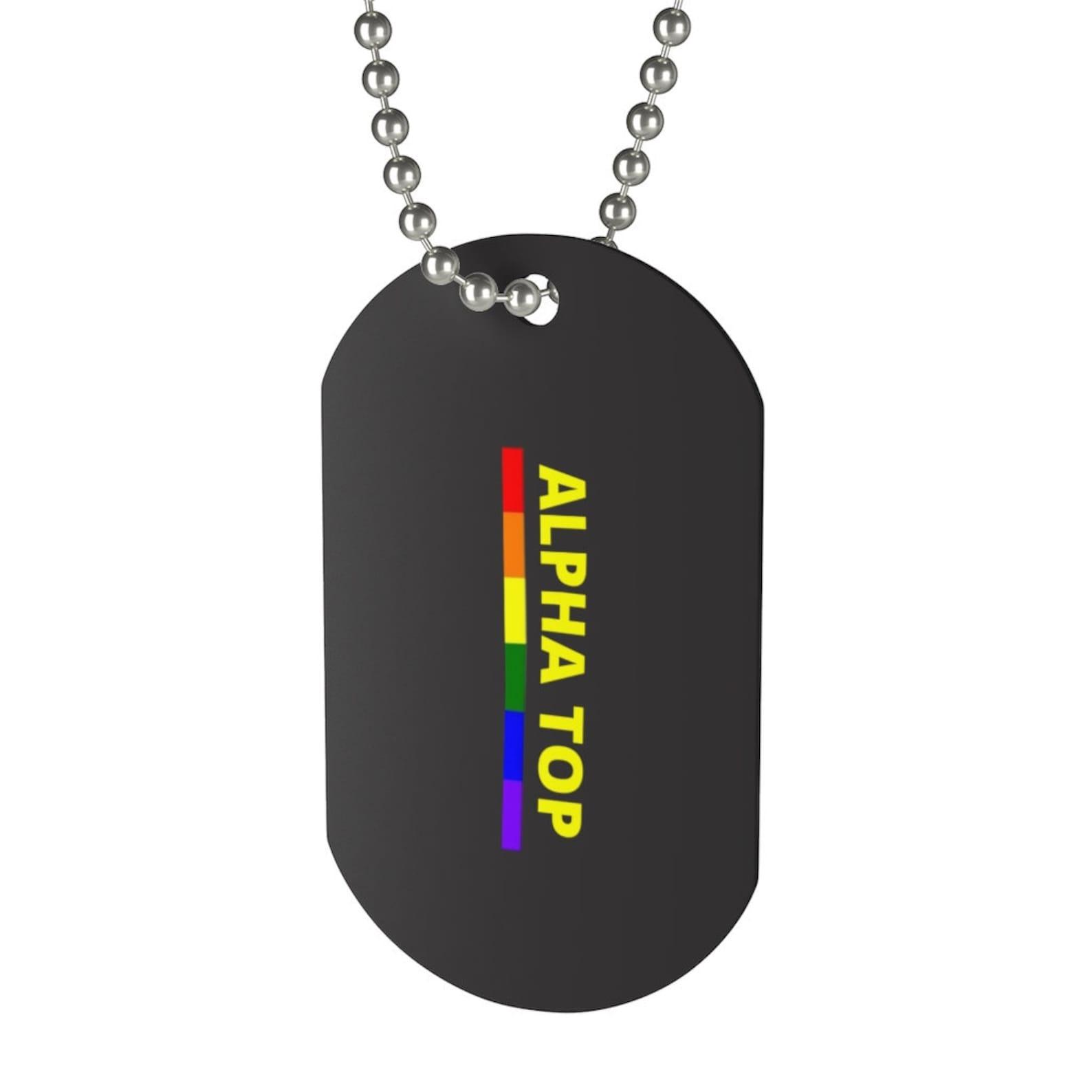 Alpha Top Regenbogen Gay Pride LGBT LGBTQ Sex Fetisch Kink
